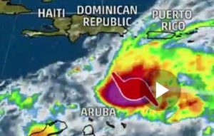 OnGuard Generators hurricane map thru Caribbean