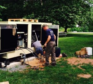 Emergency Generator Installation Guthrie